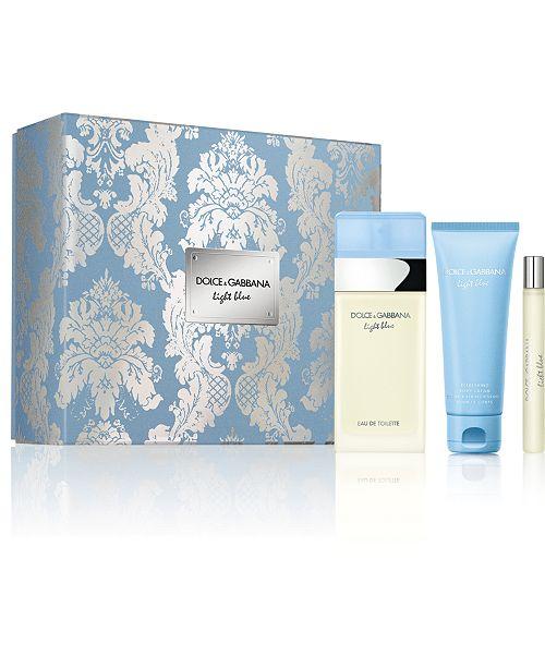 Dolce & Gabbana DOLCE&GABBANA 3-Pc. Light Blue Gift Set