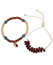 Nanette Nanette Lepore Slider And Stretch Set of 2 Bracelets