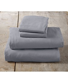 Great Bay Home Solid Twin Sheet Set