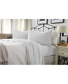 Great Bay Home Heathered Super Soft Jersey Knit Twin Sheet Set