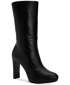 Calvin Klein Women's Pebbles Mid-Shaft Boots