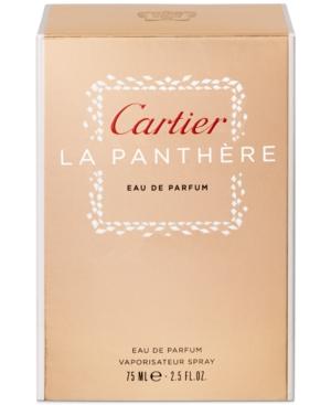 Cartier La Panthere Eau de Parfum Spray, 2.5 oz