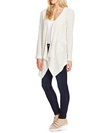 Drapey Open-Front Cardigan