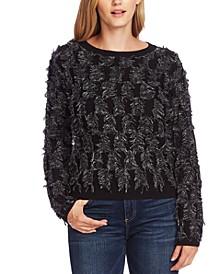 Cotton Eyelash Sweater