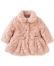 Baby Girls Faux Fur Coat