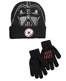 Little & Big Boys 2-Pc. Star Wars Hat & Gloves Set