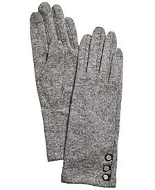 Logo-Button Touch Gloves