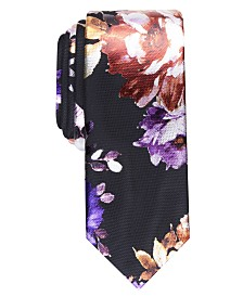 I.N.C. Men's Floral-Print Tie, Created For Macy's