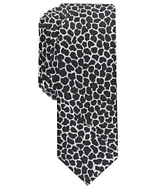 I.N.C. Men's Skinny Abstract Tie, Created For Macy's