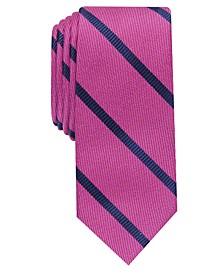 Men's Abbey Skinny Stripe Tie, Created for Macy's