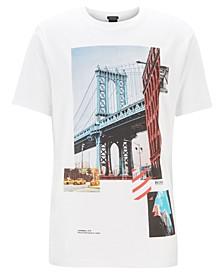 BOSS Men's Toll 3 Regular-Fit Cotton T-Shirt