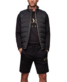BOSS Men's V_Sarito Link² Quilted Gilet