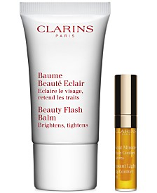 GET EVEN MORE! Free 2pc beauty gift with your $125 Clarins Purchase! (A $24 value!)