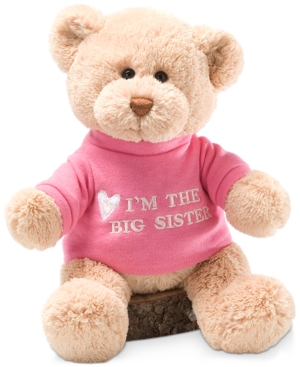 Gund Baby Girls Big Sister Bear Plush Toy