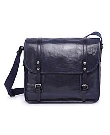 Mountain Breeze Leather Messenger Bag