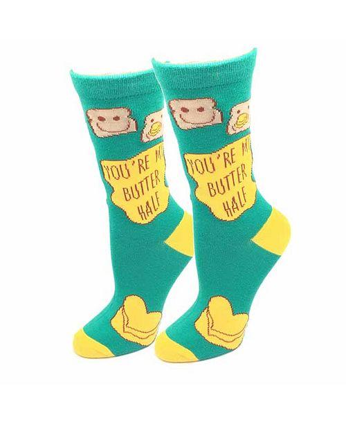 Sock Harbor Butter Half Socks