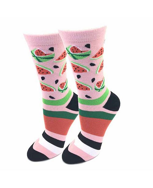 Sock Harbor Watermelon Socks