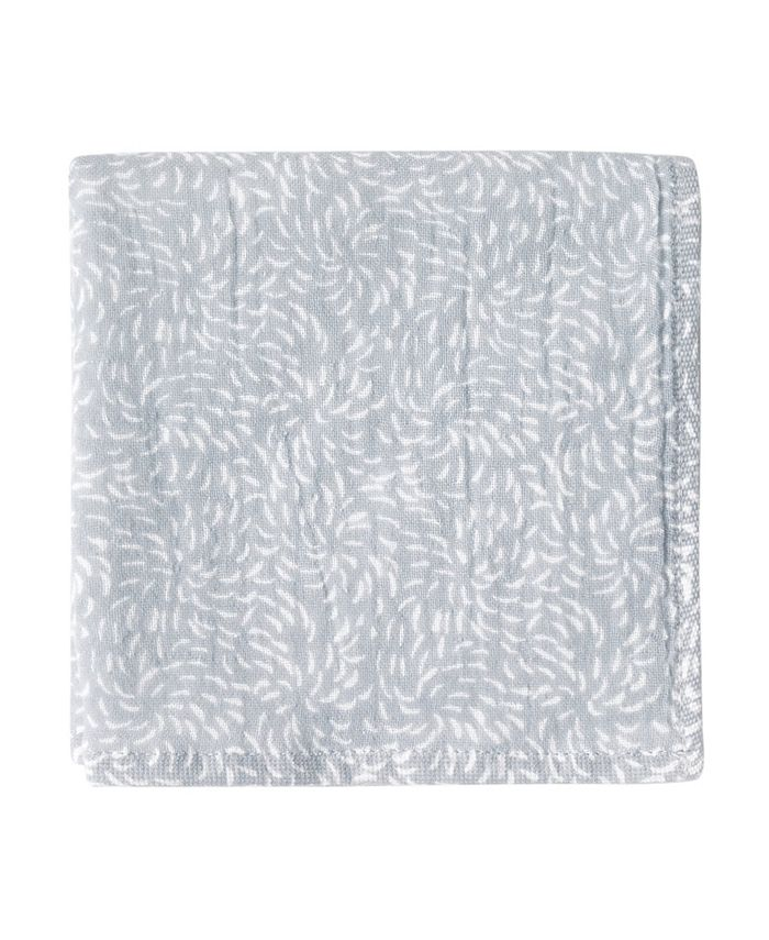 Uchino - Kiku Print 100% Cotton Washcloth
