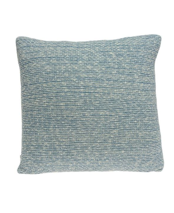 Parkland Collection Tobi Transitional Blue Pillow Cover