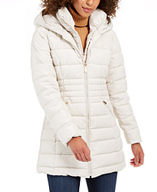 Laundry by Shelli Segal Hooded Puffer Coat