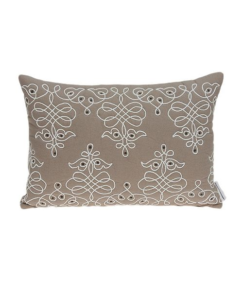 Parkland Collection Omni Traditional Tan Pillow Cover