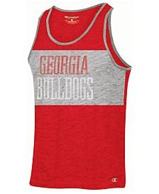 Champion Men's Georgia Bulldogs Colorblocked Tank