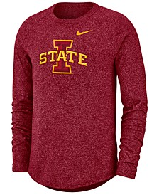 Men's Iowa State Cyclones Marled Long Sleeve Raglan T-Shirt