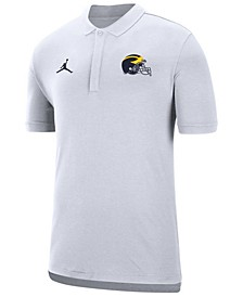 Men's Michigan Wolverines Coaches Polo
