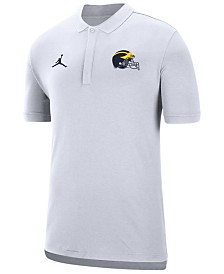 Jordan Men's Michigan Wolverines Coaches Polo