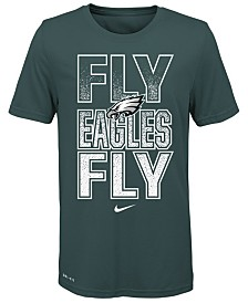 Nike Big Boys Philadelphia Eagles Local Verbiage T-Shirt