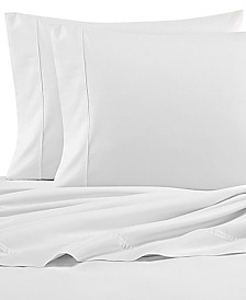 Nautica Solid Cotton Percale Full Sheet Set
