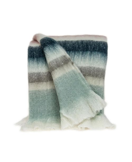 Parkland Collection Casmir Transitional Handloomed Mohair Throw