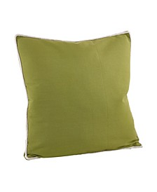 "Cord Piped Throw Pillow, 22"" x 22"""