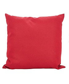 """Outdoor Polyester Filled Throw Pillow, 21"""" x 21"""""""