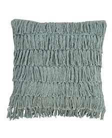 "Woven Fringes Throw Pillow, 18"" x 18"""