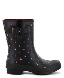 Chooka Women's Rain Dot Mid-Calf Rain Boot