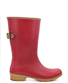 Chooka Women's Bainbridge Adjustable Mid-Calf Rain Boot