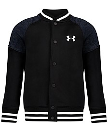 Toddler Boys Fleece Varsity Jacket