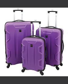 Traveler's Club Camden 3-pc Spinner Luggage Set