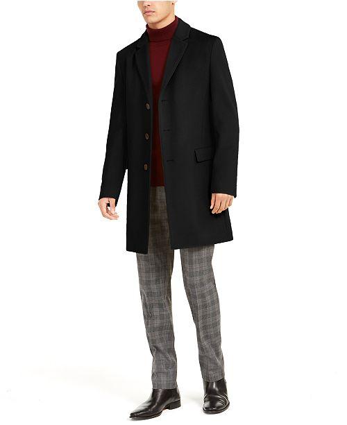 HUGO Hugo Boss Men's Migor Slim-Fit Cashmere Overcoat