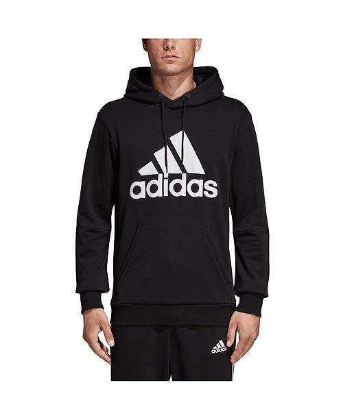 ultima selezione moda più desiderabile miglior valore adidas Men's Badge of Sport French Terry Hoodie & Reviews ...