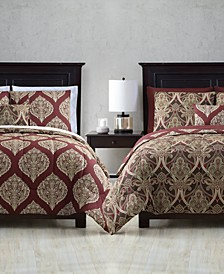 Brandel Reversible 12-Pc. Queen Comforter Set