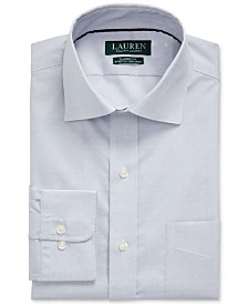 Lauren Ralph Lauren Men's Classic-Fit Easy Care Print Dress Shirt