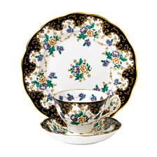 Royal Albert 100 Years 1910 3-Piece Set,  Teacup Saucer & Plate -Duchess