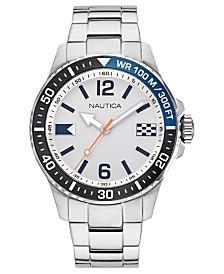 Nautica Men's Freeboard Stainless Steel Bracelet Watch