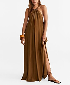Mango Halter Neck Dress