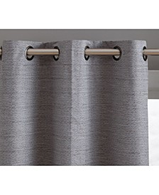 Obscura by Townsville 100% Blackout Grommet Curtain Panels - 37 W x 84 L - Set of 2