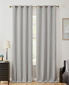 Obscura by Cairns 100% Blackout Grommet Curtain Panels - 50 W x 63 L - Set of 2