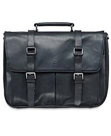 Buffalo Collection Single Compartment Laptop Briefcase