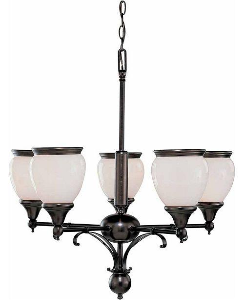 Volume Lighting Hyde Park 5-Light Hanging Chandelier